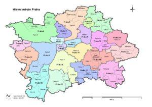 Městské části Praha